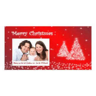 Customizable Photo Christmas Card - Christmas Tree