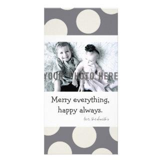 Customizable Photo Christmas Card Photo Card