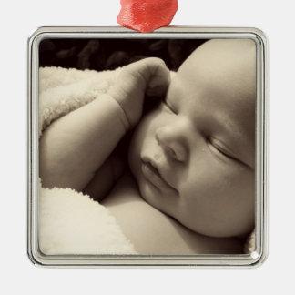 Customizable Photo Christmas Ornament