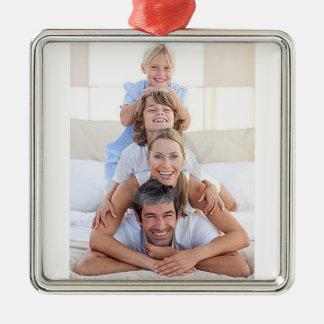 Customizable Photo Christmas Tree Ornament