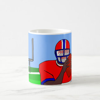 Customizable photo face football grid iron AA Coffee Mug