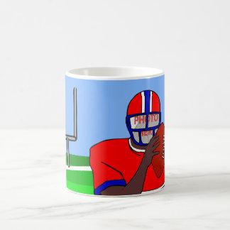 Customizable photo face football grid iron AA Coffee Mugs