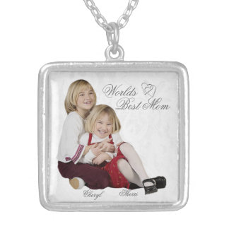 Customizable Photo Keepsake Mother s Day Necklace