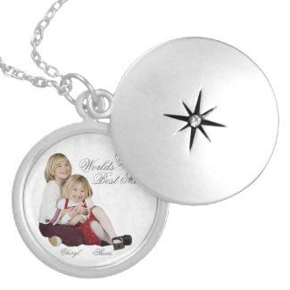 Customizable Photo Keepsake Mother's Day locket Plated with Sterling Silver
