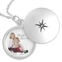 Customizable Photo Keepsake Mother's Day locket