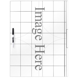 Customizable Photo, Large With Pen Dry Erase Board