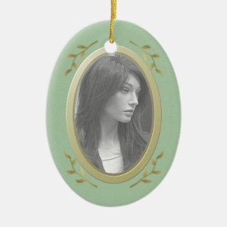 Customizable Photo Memorial / Remembrance Ceramic Ornament