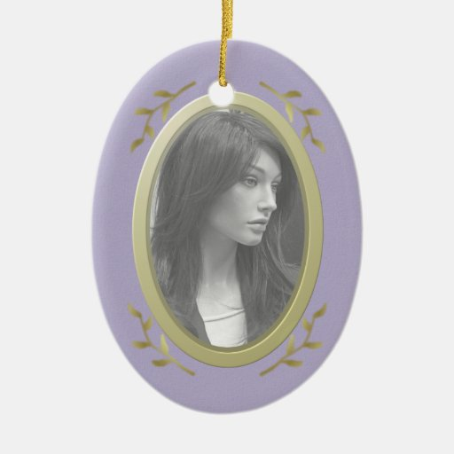 Customizable Photo Memorial / Remembrance Christmas Tree Ornaments