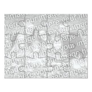 "Customizable Photo ""Mock"" Puzzle Card-12 pieces Card"
