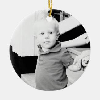 Customizable Photo Ornament