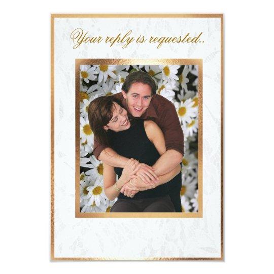 Customizable Photo Wedding RSVP Card