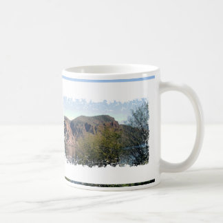 Customizable Photo Worn Crackle Pattern Drinkware Coffee Mug