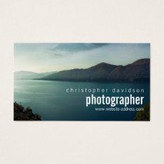 Customizable Photographer Business Card at Zazzle