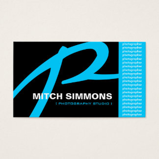 Customizable Photography Startup Business Cards