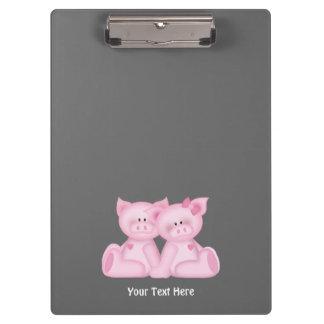 Customizable Piggy Clipboard