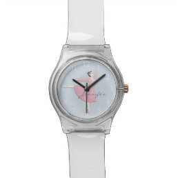 Customizable Pink Ballerina May28th Watch