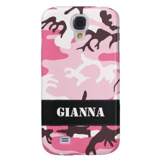 Customizable Pink Camo Samsung Galaxy S4 Case