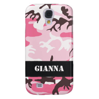 Customizable Pink Camo Samsung S4 Case