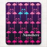 Customizable: Pink flamingo Mousepad