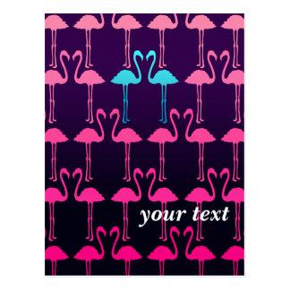 Customizable: Pink flamingo Postcard
