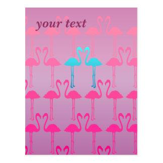 Customizable: Pink flamingo Post Cards