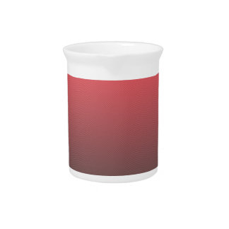 Customizable Pink Gray Ombre Background Pitcher