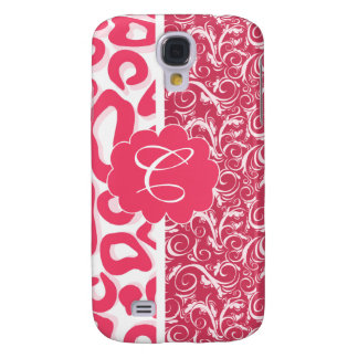 Customizable Pink Leopard & Lace Case Galaxy S4 Case