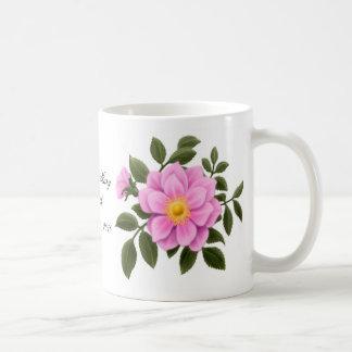 Customizable Pink Rose Mug