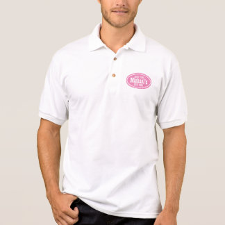 Customizable Pink Western Biz Promo Polo Shirt