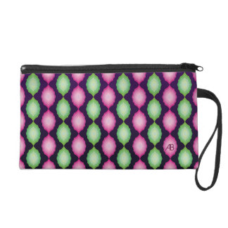 Customizable: Pinks & greens Wristlet Purses