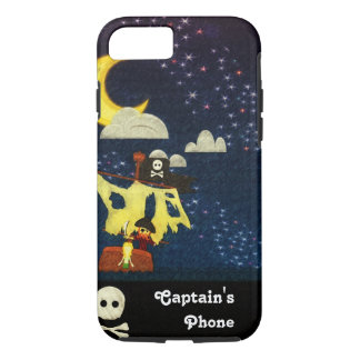 Customizable Pirate at Night Case