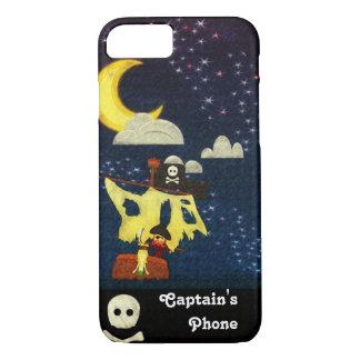 Customizable Pirate at Night Case