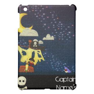 Customizable Pirate Drawing iPad Case