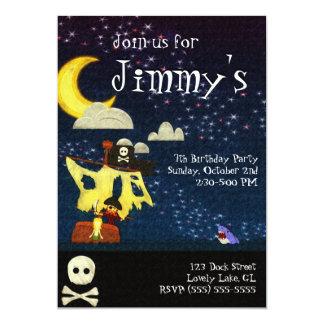Customizable Pirate Party Invitation