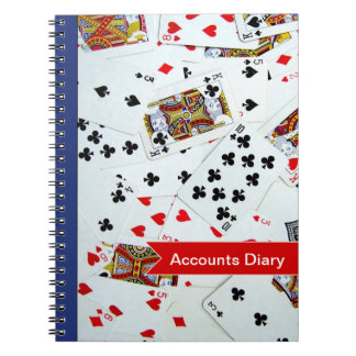 Customizable Playing Cards Games Notebook
