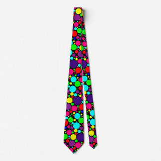 Customizable Polka Dot Candy Neck Tie