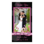 Customizable Polka Dot Photocard Photo Card