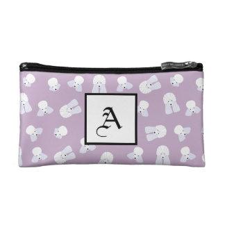 Customizable Poodle Cosmetic Bag