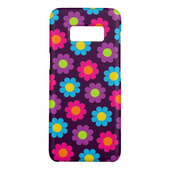 Customizable Pop Flower Power Case-Mate Samsung Galaxy S8 Case