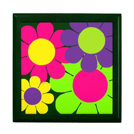 Customizable Pop Flower Power Keepsake Box