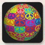 Customizable Pop Peace Ball Coaster