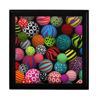 Customizable Pop Peace Balls Trinket Boxes