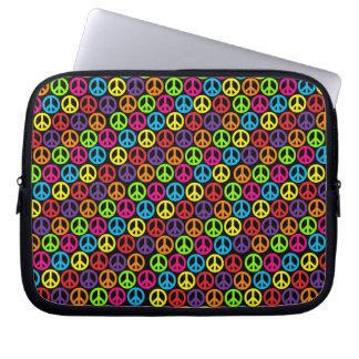 Customizable Pop Peace Computer Sleeve