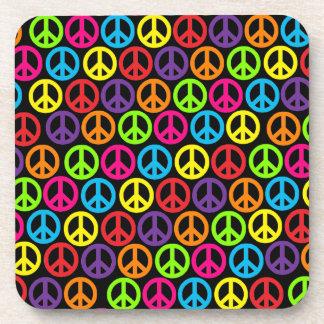 Customizable Pop Peace Drink Coaster