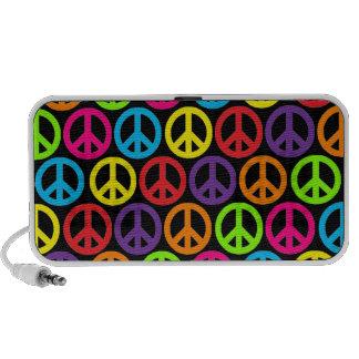 Customizable Pop Peace iPhone Speakers