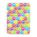 Customizable Pop Peace Vinyl Magnets