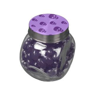 Customizable Pop Skulls Glass Candy Jars