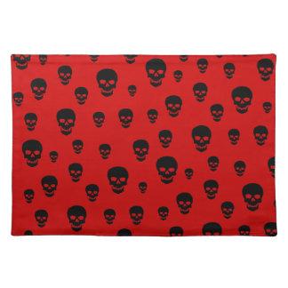 Customizable Pop Skulls Placemat