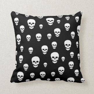 Customizable Pop Skulls Throw Pillow