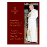 Customizable Pope John Paul 2 photo Post Cards